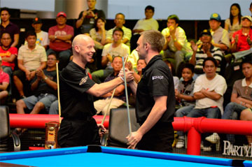 Ральф Суке и Торстен Хоманн, World Cup of Pool 2011, фото — Pro9.co.uk