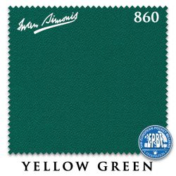 Сукно Iwan Simonis 860 (Yellow Green)